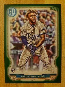 2020-Topps-Gypsy-Queen-SP-Green-Parallel-RC-Randy-Arozarena-68-Tampa-Bay-Rays