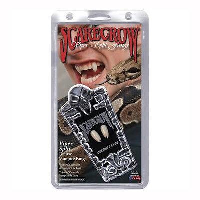 SCARECROW Viper Split Snake Deluxe Custom Costume Fangs Teeth VF600
