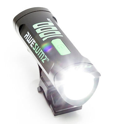 AWE® AWE150™ 1 x AWELED USB Rechargeable Bicycle Front Light 150 Lumens