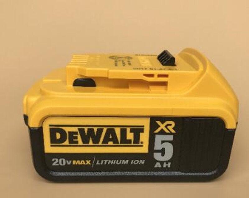 Genuine DEWALT DCB205  20V 20 Volt Li-on 5.0 AH Battery