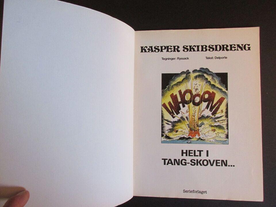 Tegneserier, Stjerneserien Album nr. 1 : Kasper