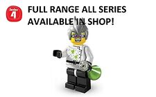 Lego minifigures crazy scientist series 4 (8804) unopened new factory sealed