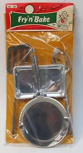 1950's FRY 'N' BAKE cooking set PAX TOYS of Canada Mint in Package KITCHEN TOYS