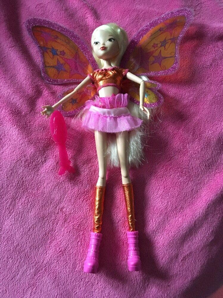 Jakks Pacific winx  Believeix Stella Doll Only Ever Been Displayed