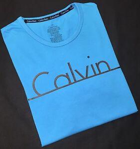 Calvin-Klein-col-ras-du-cou-T-Shirt