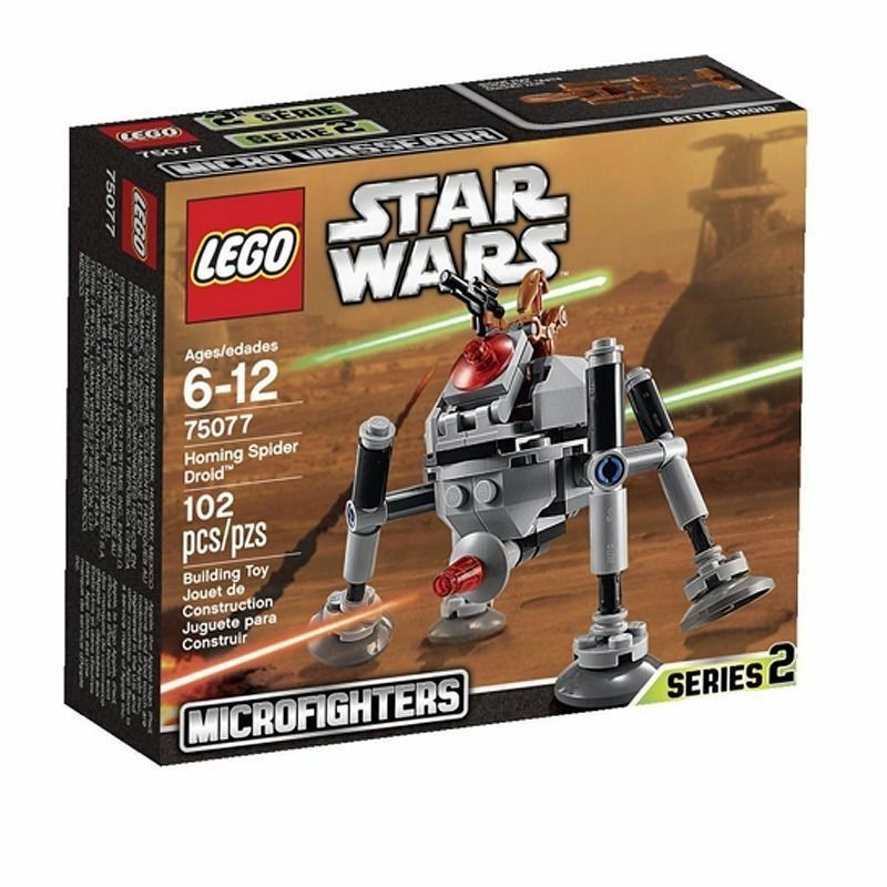 Boma LEGO  Star Wars Homing Spider Droid 75077 MINT IN SEALED BOX
