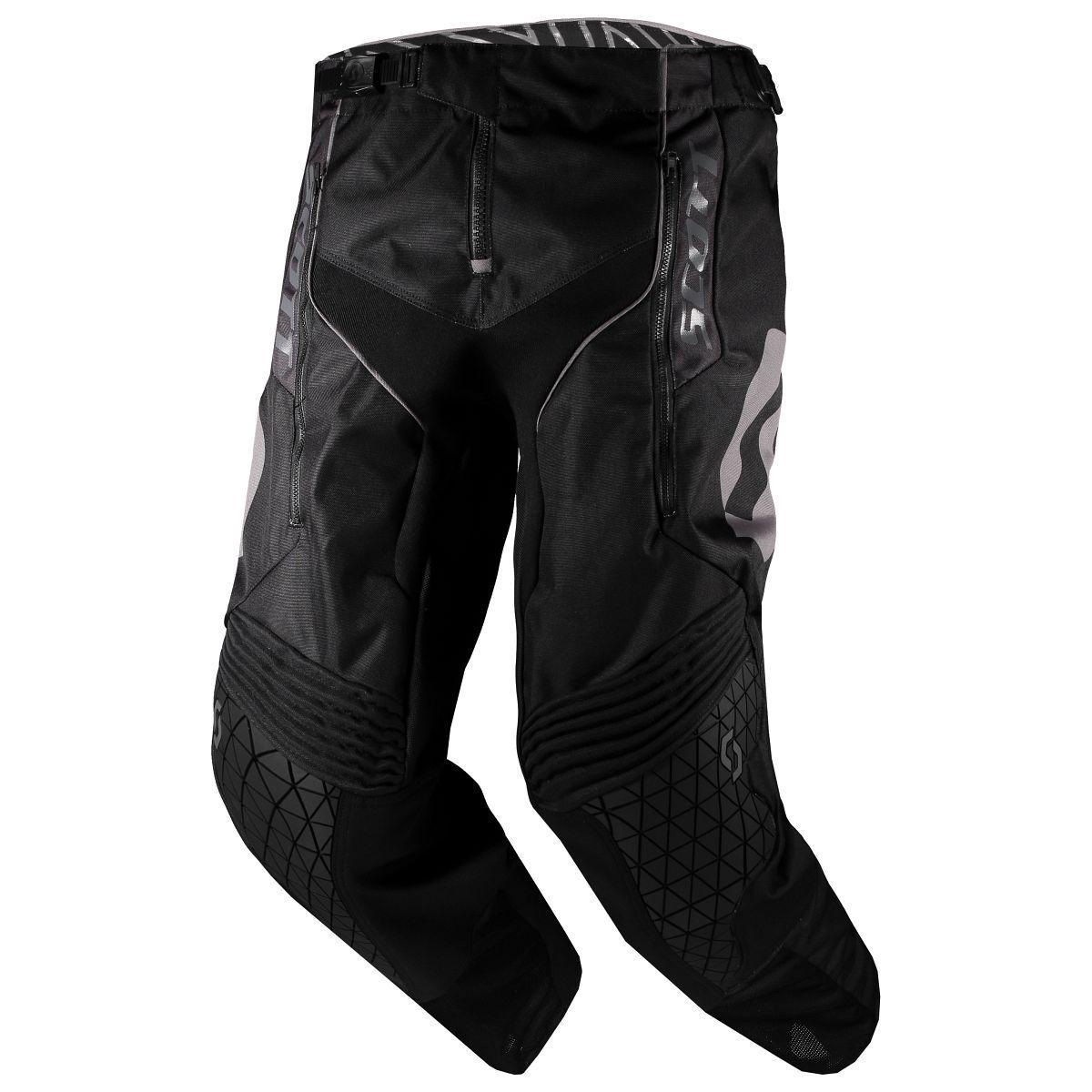 Scott Enduro MX Motocross DH Vélo Pantalon noir 2019