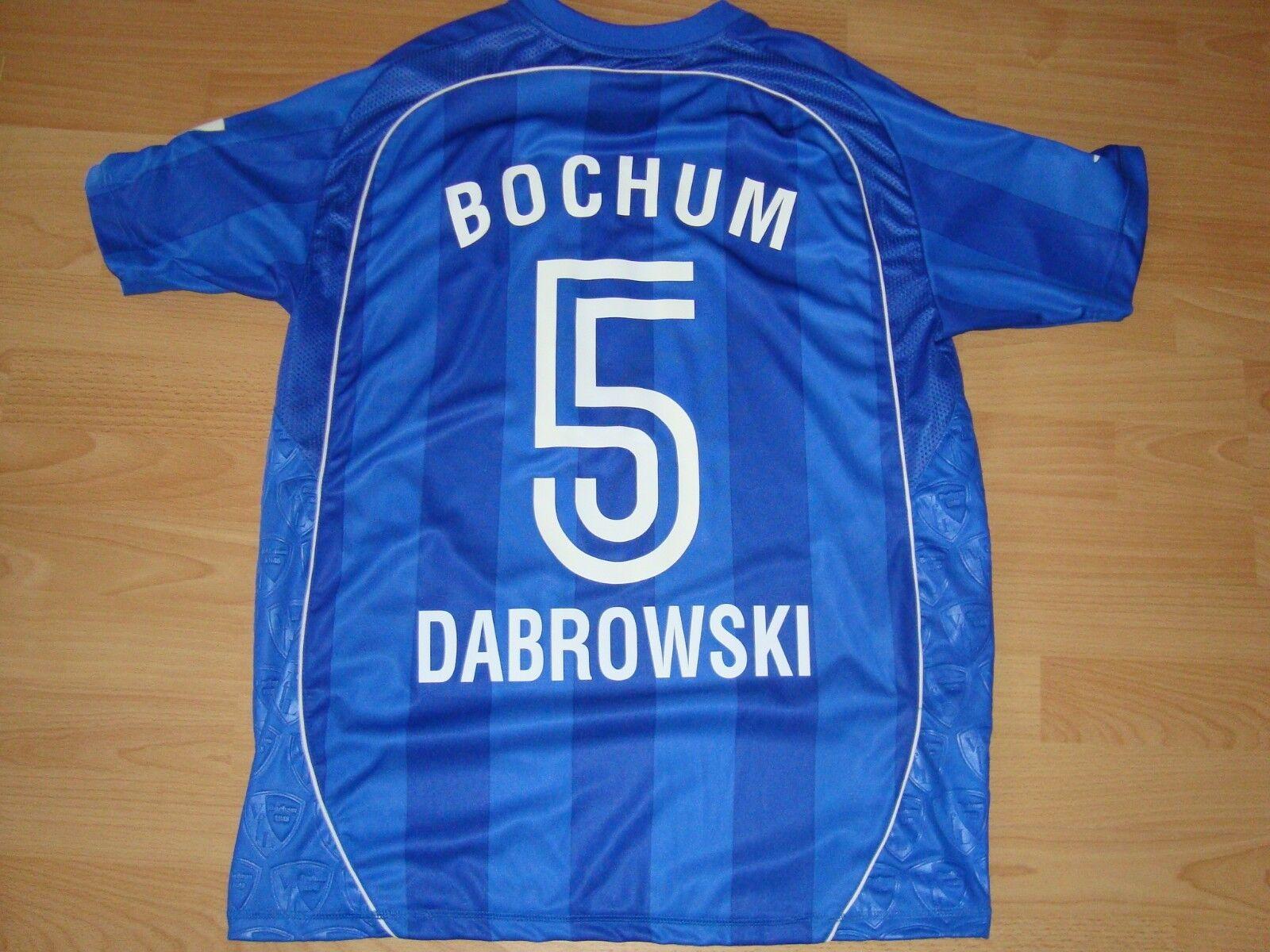 Trikot VfL Bochum Umbro Nr. 5 Dabrowski Gr. Large plus Hose/Stutzenstrümpfe: neu