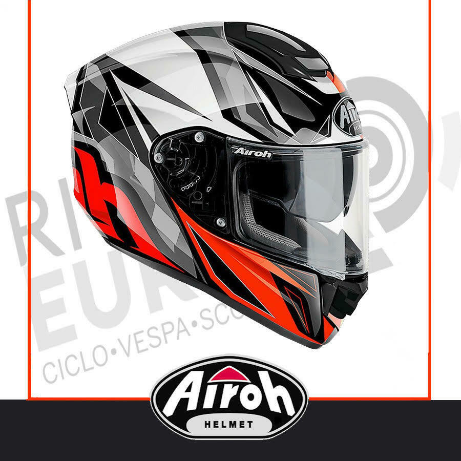 L CASCO INTEGRALE AIROH MOVEMENT S FASTER ROSSO RED GLOSS LUCIDO TG