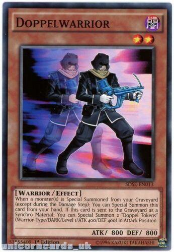 SDSE-EN013 Doppelwarrior 1st edition Mint YuGiOh Card