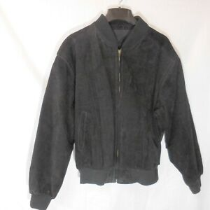 Robinsons-Men-039-s-Size-XL-Suede-Leather-Jacket