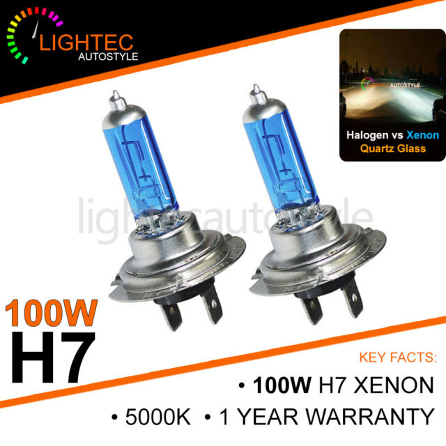 Clear Xenon Front Fog Bulbs Renault Scenic 97-01 H1+LED