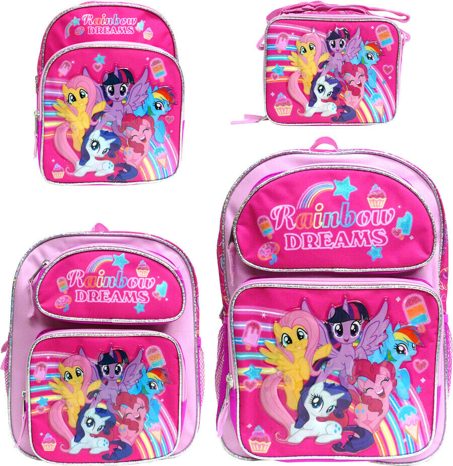 HORSE /& WESTERN KIDS GIRLS CHILDRENS MY LITTLE PONY DRAWSTRING BACKPACK PINK c