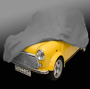 Austin Mini Cooper Indoor Ganzgarage Car Cover Auto-Garage SCHWARZ WEICH EDEL