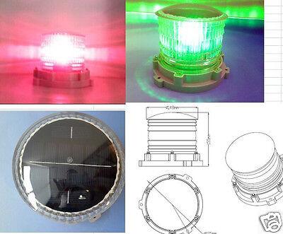 S16LFS 4-7NM BLUE IP68 FLASHING OR STEADY-ON SOLAR LED SAFETY LANTERN