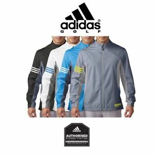Adidas-GOLF-Gore-Windstopper-Active-Shell-FULL-ZIP-WINDPROOF-Jacket-TOP