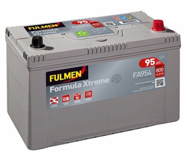 Batteria Fulmen FA954 12v 95ah 800A Kia Besta Box 02/96 -> 2.2 D