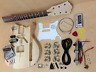 NO-SOLDER DIY Short Scale 3/4 Size Electric Guitar Blemished #60