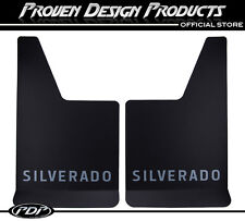 Chevrolet Silverado, 2500 HD Mud Flaps, Guards, Chevy MUDFLAPS Silverado_GRAY