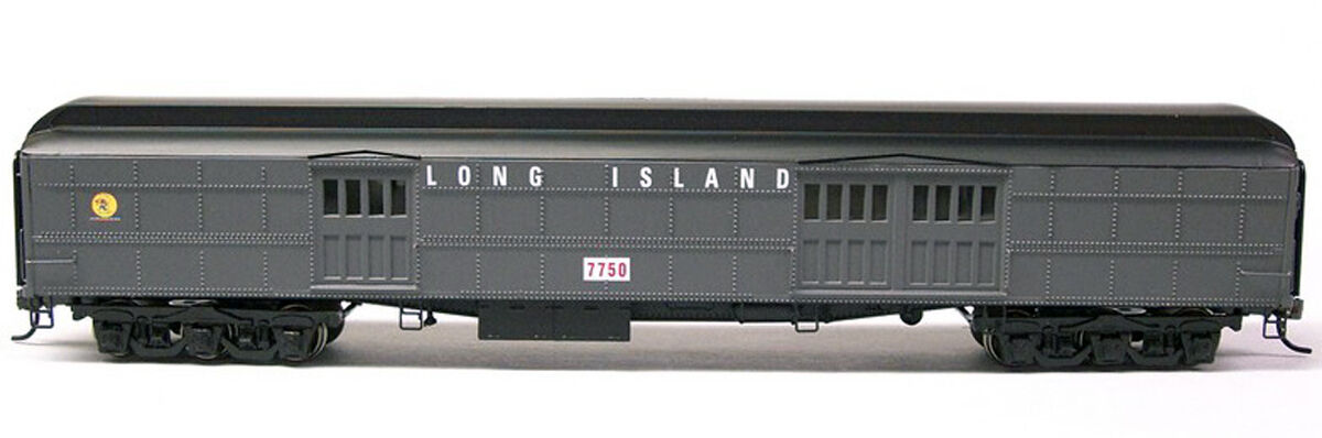 LONG ISLAND CLASS BA BAGGAGE CAR HO Model Railroad Plastic RTR IM5531