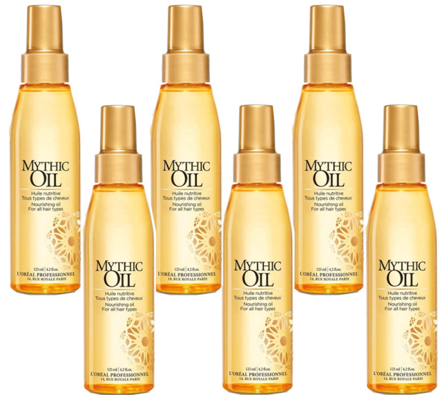L'Oreal Professional Blow-Dry Treatment Mythic Oil x 6 BUY NOW Australian Seller