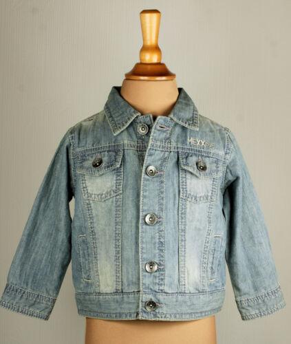 MEXX Giacca Giacca Jeans Blu Estate ragazzo MOTORBIKE BIKES MIS 80 matrimonio UVP 39,95 NUOVO