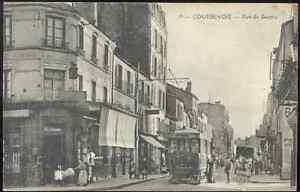 92-cpa-COURBEVOIE-Rue-de-Bezons