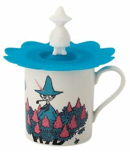 MOOMIN-Valley-Mug-Cup-with-Cover-Snufkin-MM494-11P-Japan-F-S