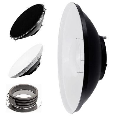 Silver 55cm 22inch Studio Beauty Dish Honeycomb /& Diffuser Multiblitz P-Type