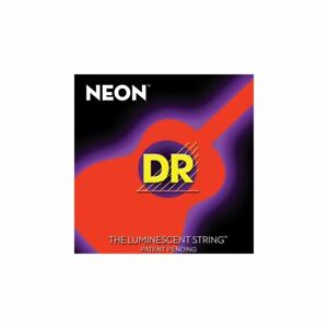 DR Hi-Def Neon Westerngitarren-Saitensatz Orange 011-050