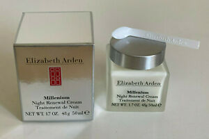 NEW-ELIZABETH-ARDEN-MILLENIUM-NIGHT-RENEWAL-CREAM-50ml-SALE