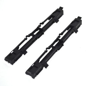 2X Roof Luggage Rail Trim Moulding Covers For Vauxhall Opel Astra H Zafira B