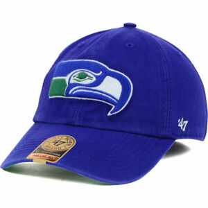 e737def76 Seattle Seahawks NFL  47 Franchise Cap Hat Gridiron Football Vintage ...