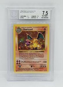 Charizard-amp-Venusaur-Pokemon-Karten-seltene-Holos-Original-Base-Set-102