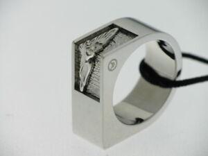 SECTOR-anello-uomo-acciaio-lucido-con-aquila-referenza-0J11A-mis-21