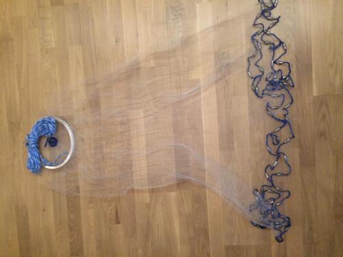 Nr.6 Wurfnetz m.3,66m Durchmesser,Angelnetz,Neues Profi Wurfnetz Model,Neu,XXL