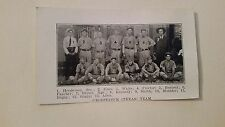 Groesbeeck Texas & Carrollton Mississippi 1906 Baseball Team Picture SP VERYRARE