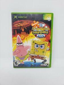 The Spongebob Squarepants Movie Microsoft Xbox Complete Manual Tested Works