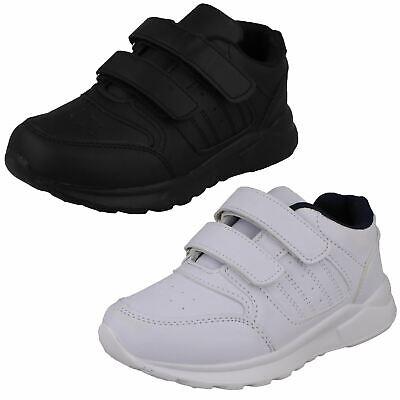 Boys JCDees Hook /& Loop School Shoes