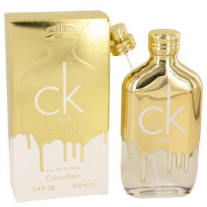 2ff2042fab Ck One Gold by Calvin Klein Eau De Toilette Unisex 3.4 FL Oz 100 Ml ...
