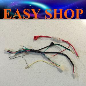 image is loading electric-start-wiring-harness-wireloom-49-50cc-kids-