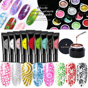 33-Farben-UV-Gel-Nagellack-Manikuere-Nail-Art-Stamping-Polish-BORN-PRETTY-5-8ML