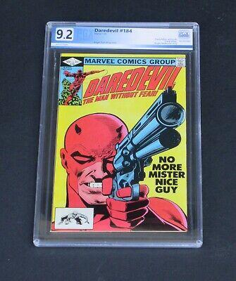 Daredevil #184 PGX 9.2 Punisher Appearance Marvel Comics 1982