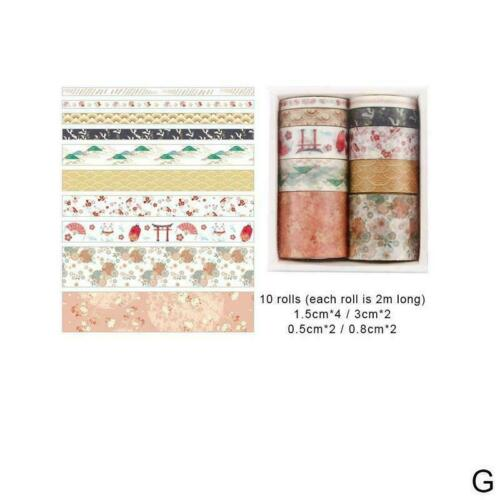 Series Material Paper Decorative Diary Stickers Scrapbooking Supplies Tape V9K4