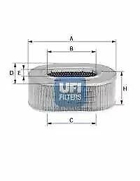 2777900 UFI Air Filter