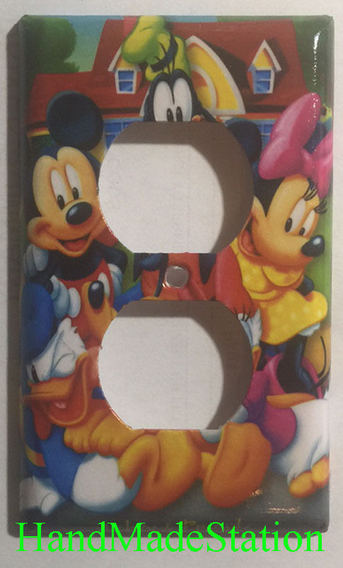 Disney Mickey Minnie Mouse Donald Duck Goofy Pluto