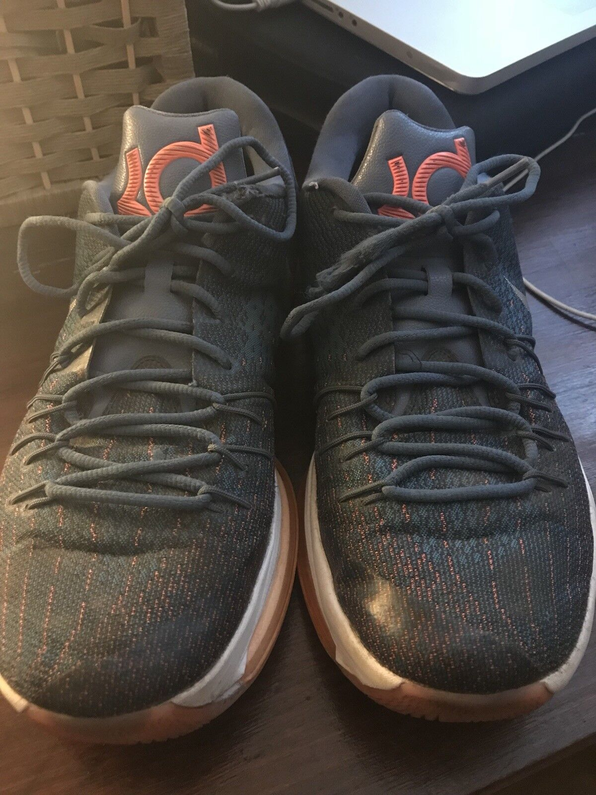 NIKE KD 8 MENS SHOES SIZE 12 Pre-owned 749375 414
