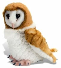 "Wild Republic,Cuddlekins 12"" BARN OWL Stuffed Animal Plush Toy, Lifelike NEW"