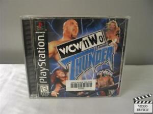 WCW/NWO Thunder  (Sony PlayStation 1, 1999)
