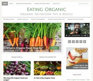 ORGANIC-FOODS-turnkey-website-business-for-sale-with-AUTO-UPDATING-CONTENT